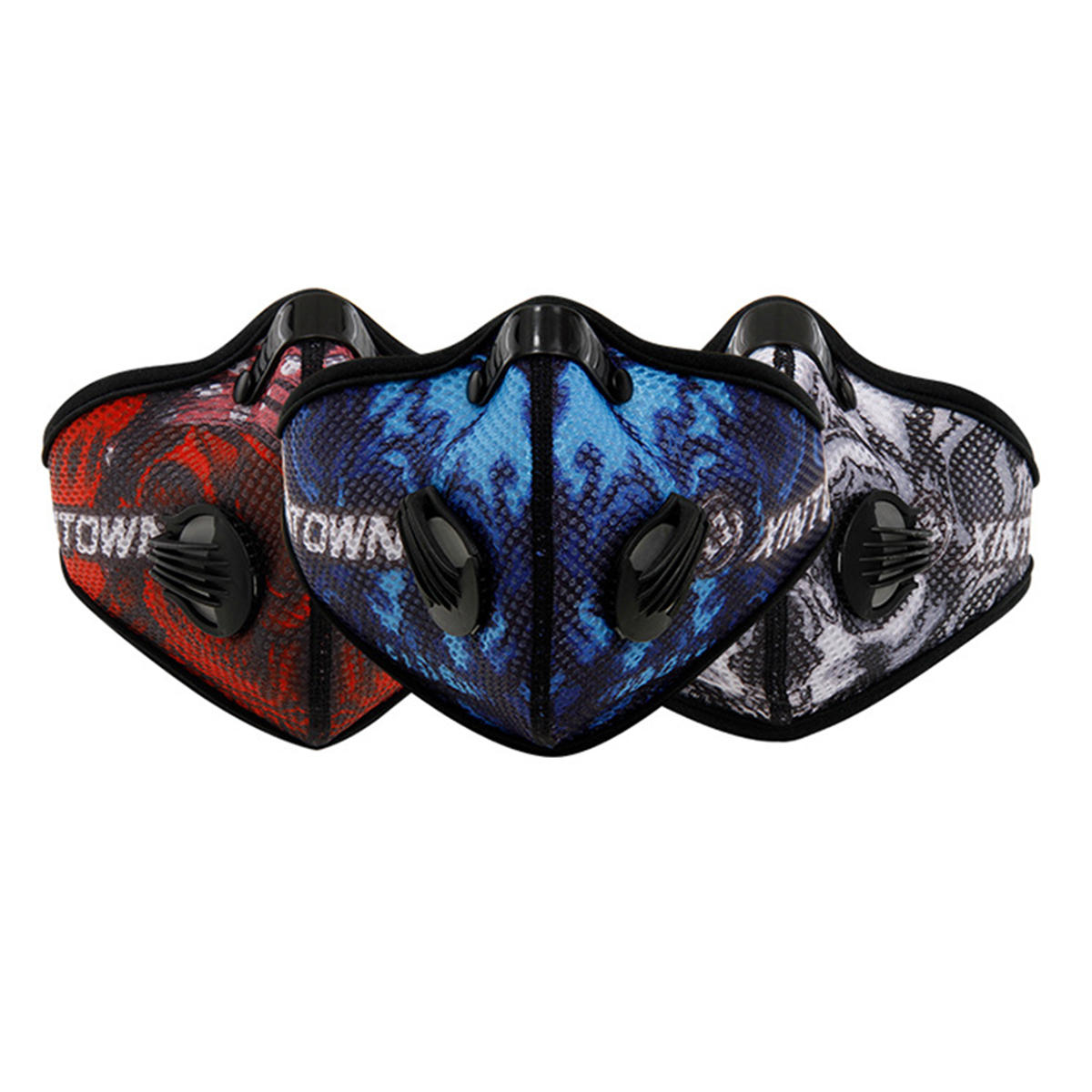 High Altitude Hypoxia Training Activated Carbon Mask Oxygen Controlled With Filter