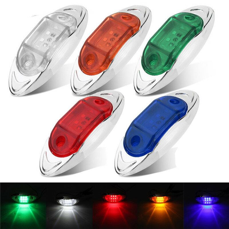 LED Side Marker Indicator Lights Clearance Lamp DC 24V for Truck Trailer Bus