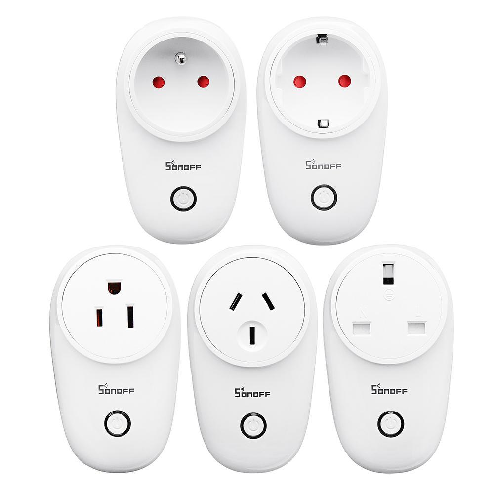 SONOFF® S26 10A AC90V-250V Smart WIFI Socket US/UK/AU/EU Wireless Plug Power Sockets