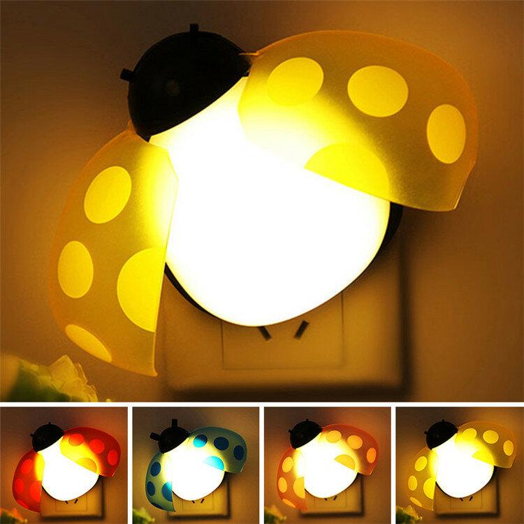 Голос света пульт дистанционного управления красочные настенные лампы творческой смарт битлз LED ночь свет домашнего дек