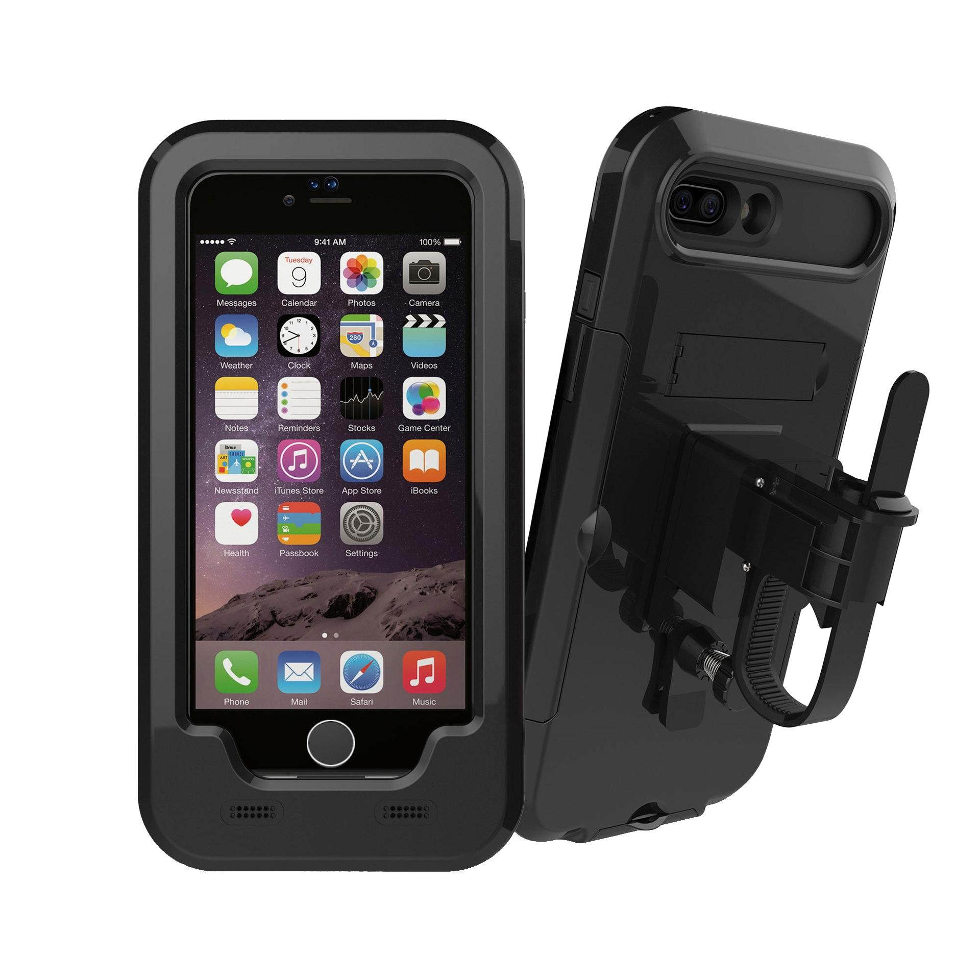 new arrivals c5d7d 0912f 4-5.5 inch Phone GPS Holder Waterproof Handlebar Motorcycle Bike For iPhone  7/7 Plus iPhone 6S