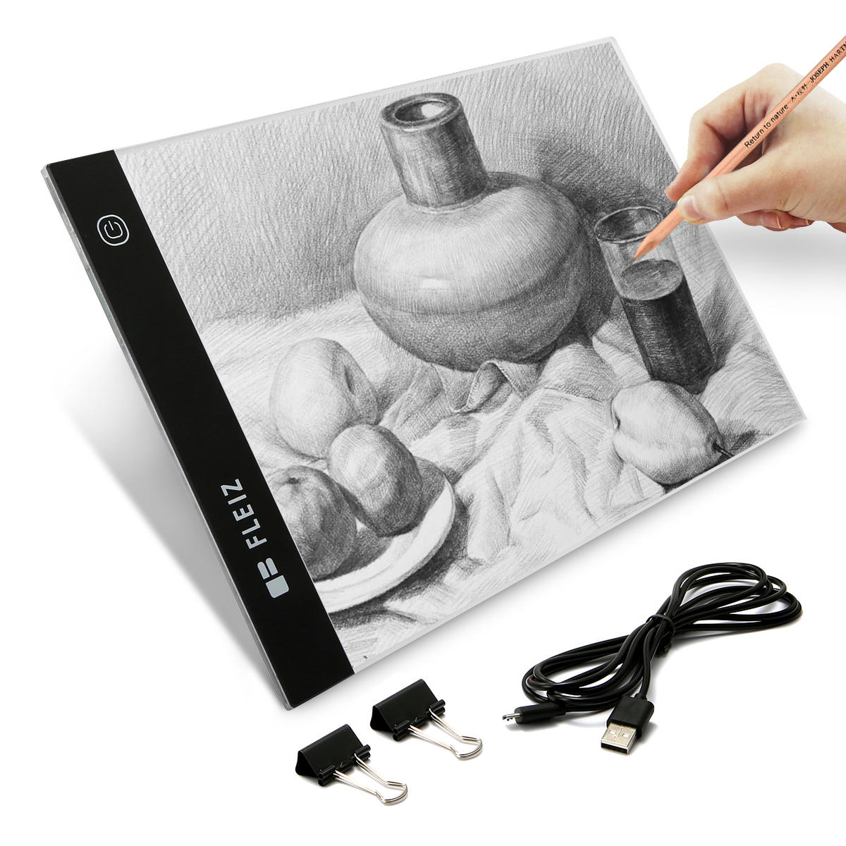 A4 LED Ultra-Thin Dimmable Brightness Light Board Tracing Copy Board Drawing Pad