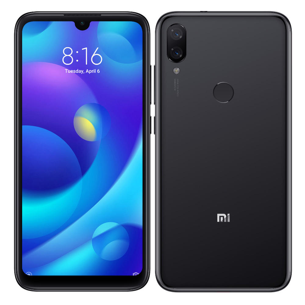 Xiaomi Mi Play Global Version 5.84 inch 4GB RAM 64GB ROM MTK Helio P35 Octa core 4G Smartphone