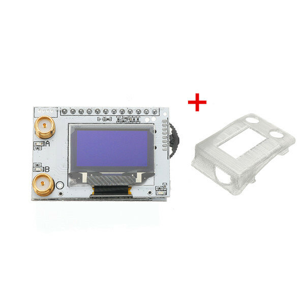 Eachine PRO58 RX Diversity 40CH 5.8G OLED SCAN FPV Receiver With Cover For Fatshark Dominator