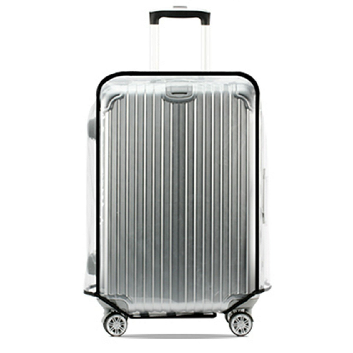 591a7ce4a Universal Waterproof Transparent Protective Luggage Cover Suitcase Case  Travel - 28inch COD