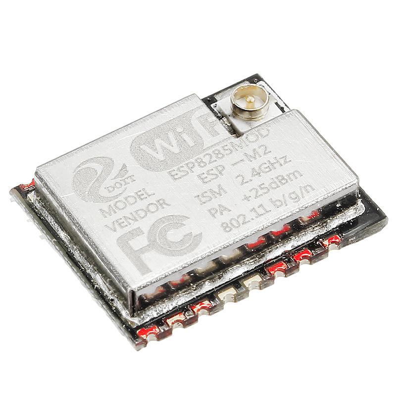 5Pcs Mini ESP-M1 ESP8285 Serial Wireless WiFi Transmission Module IoT Compatible With ESP8266