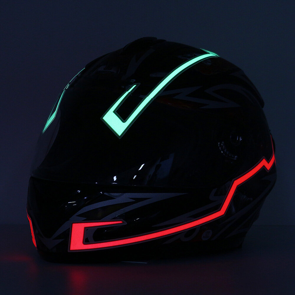 Motorcycle Helmets For Sale >> Motorcycle Helmet Light Strip Led Night Signal Light Luminous Stripe Fashion Modified Glowing Bars