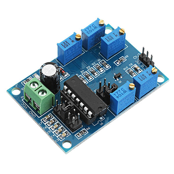 Low Frequency Signal Source Generator Module ICL8038 Sine Square Triangle Wave