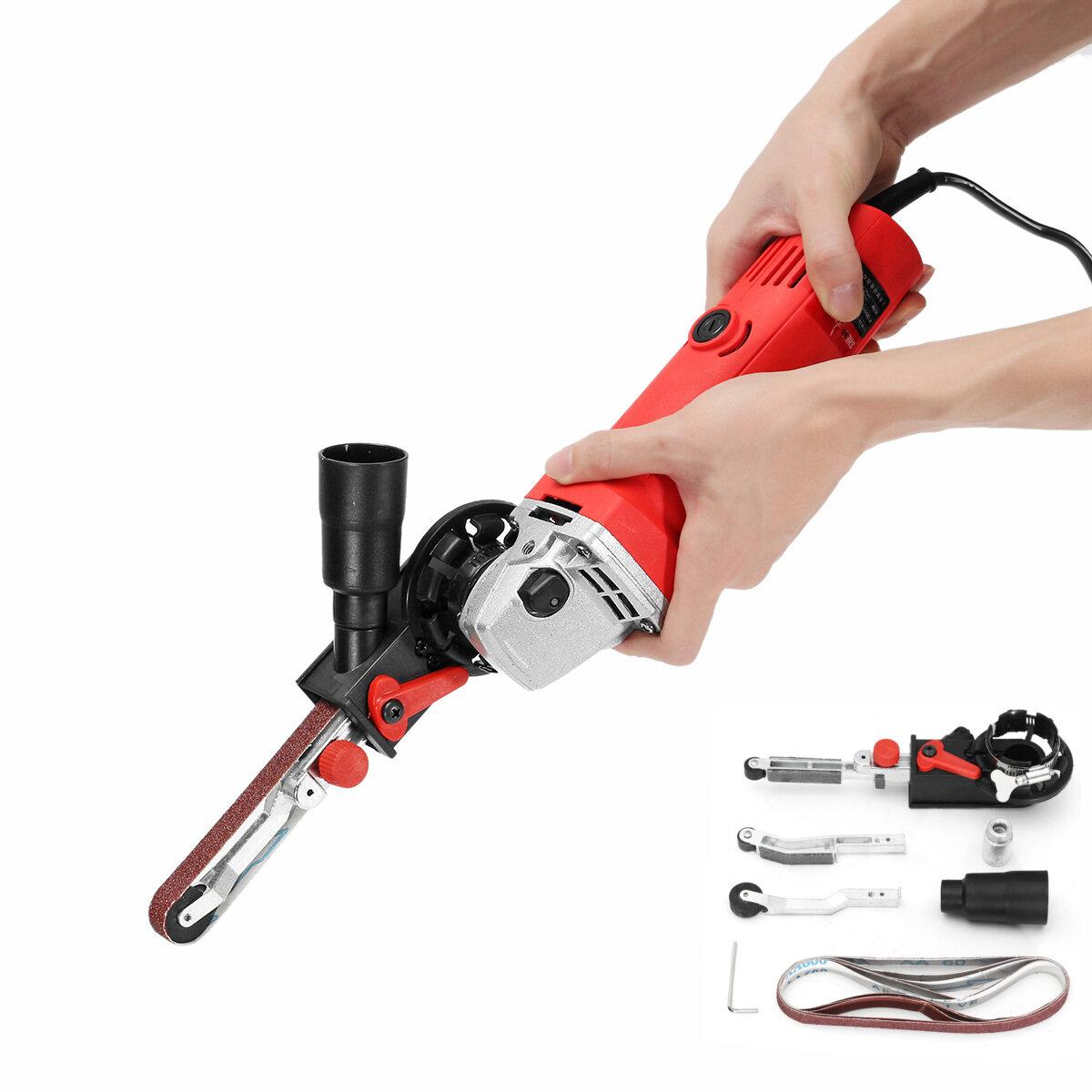 Drillpro DIY Sander Sanding Belt Adapter For 100mm 4 Inch Electric Angle Grinder