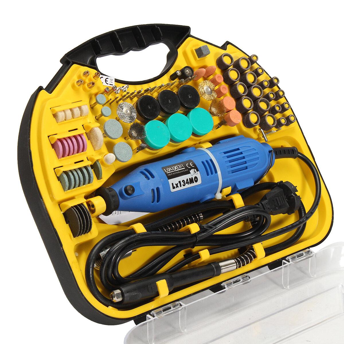 Drillpro AC 220 V Elektrikli Döner Matkap Öğütücü Gravür Parlatıcı DIY Parçalar Elektrikli Matkap Seti
