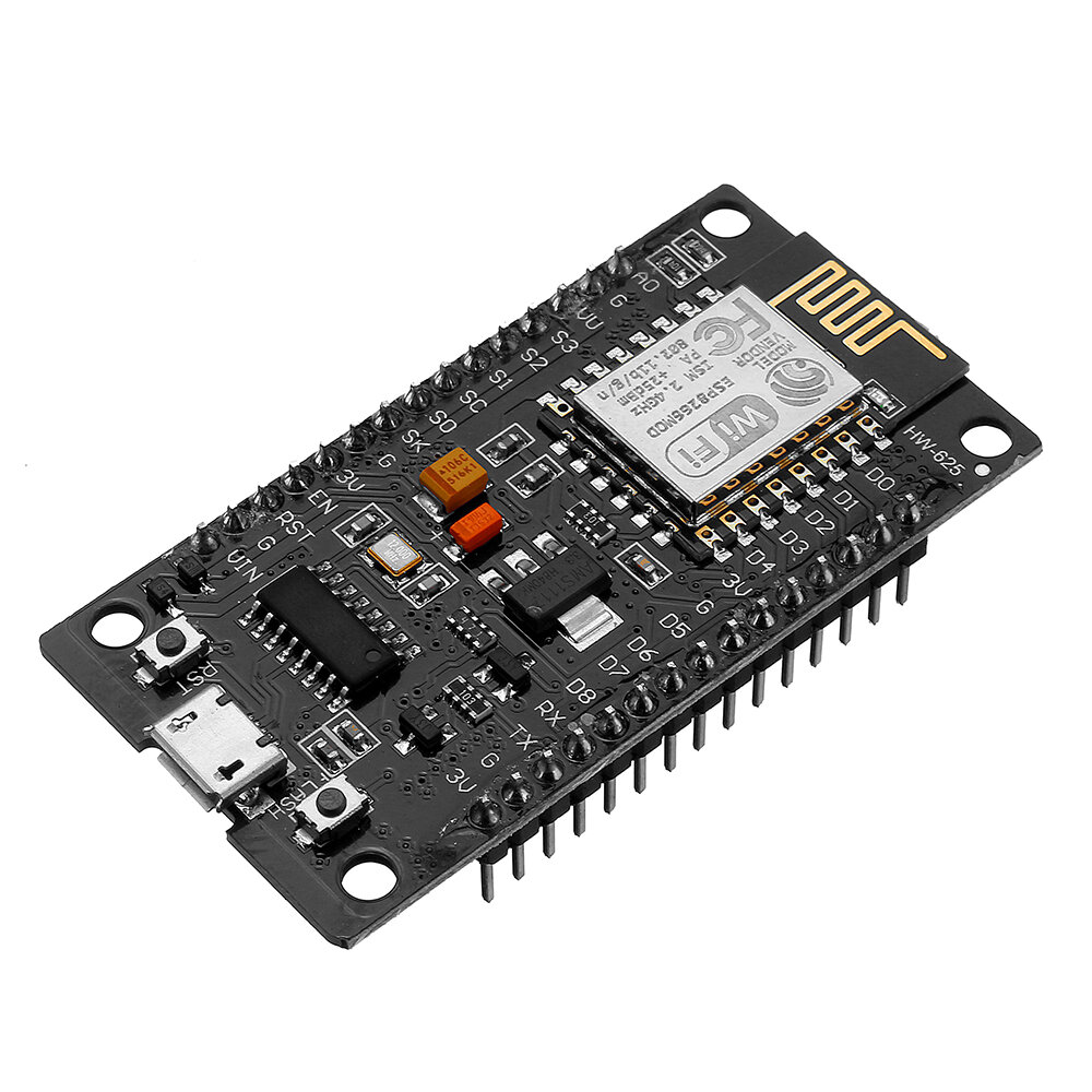 Wireless NodeMcu Lua CH340G V3 Based ESP8266 WIFI Internet of Things IOT Development Module Geekcreit for Arduino - products that work with official Arduino boards