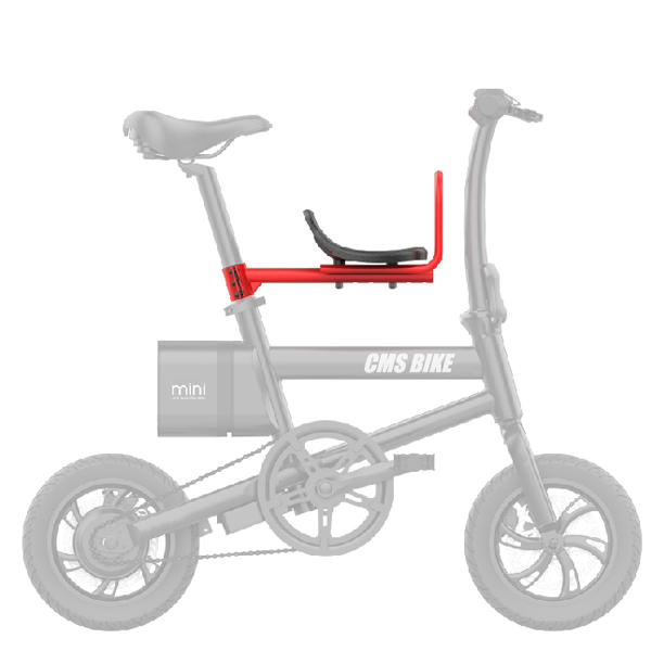 CMSBIKE Detachable Baby Bicycle Safety Seats Bike Front Seat Chair Saddle Cushion for CMSBIKE mini F1 F12 F16
