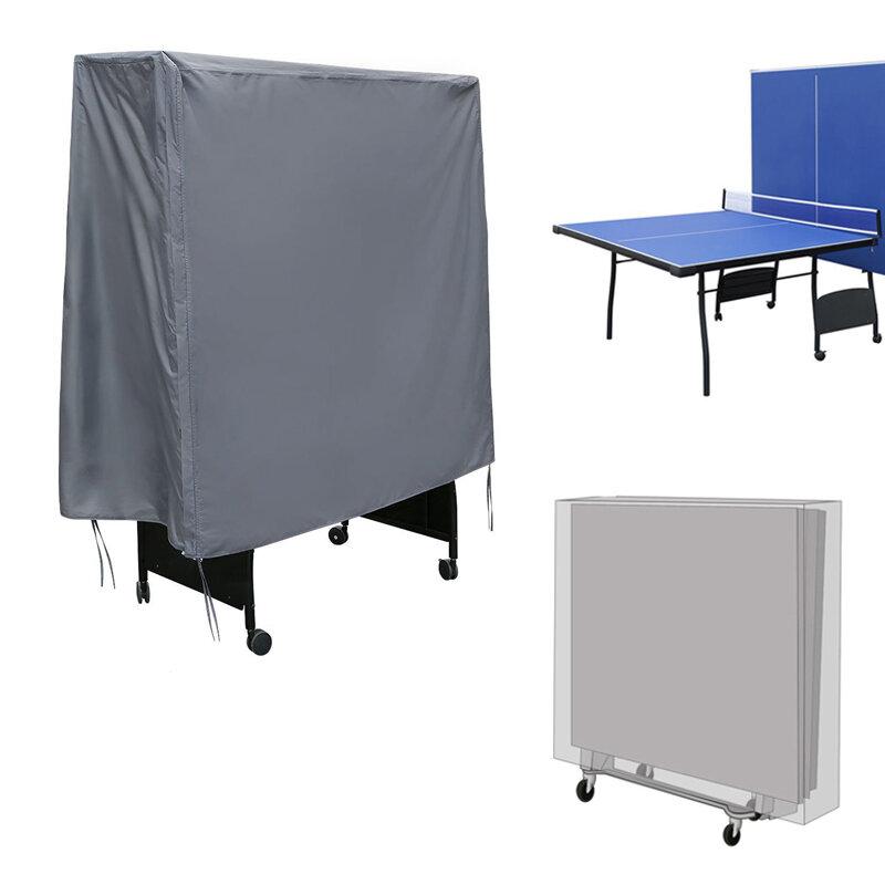 Table Tennis Table Cover Impermeable Protección plegable a prueba de polvo Caso