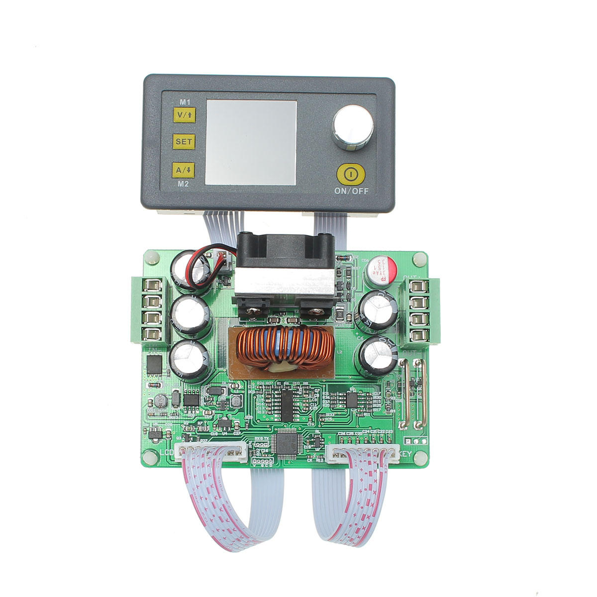 RIDEN® DPS3012 32V 12A Buck Adjustable DC Constant Voltage Power Supply Module Integrated Voltmeter Ammeter With Color Display