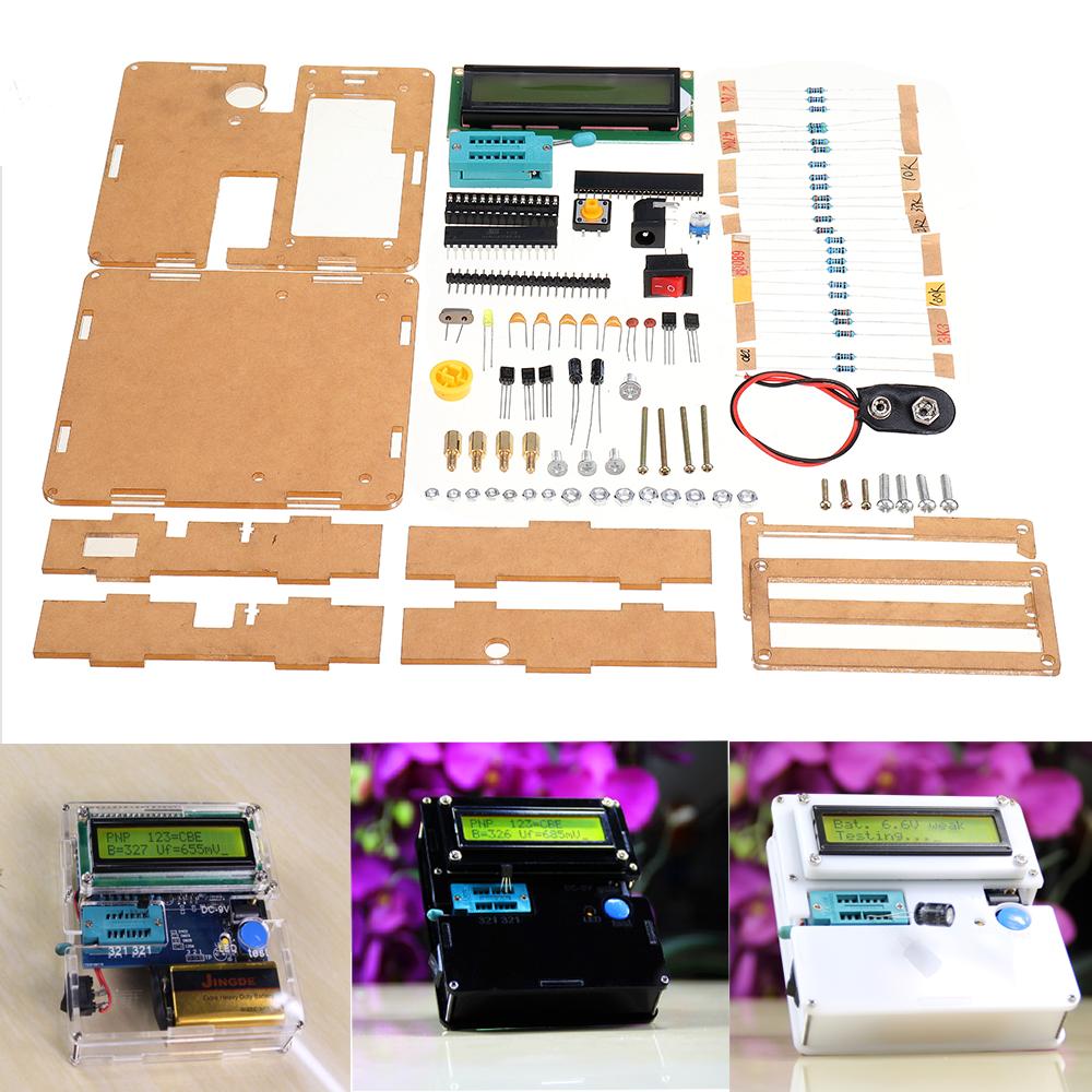 WangDaTao YD-CS Тестер транзисторов Набор производства с оболочкой