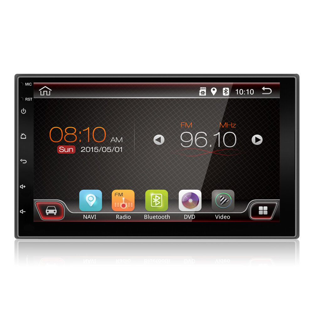 YUEHOO 7 Inch 2 DIN for Android 10.0 Car Stereo Radio 2+32G Touch Screen 4G WIFI bluetooth FM AM RDS GPS