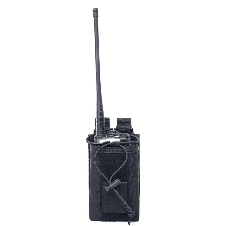 Outdoor Tactical Walkie Talkie Bag Sports Climbing Hunting Radio Storage Bag Talkie Holder Bag