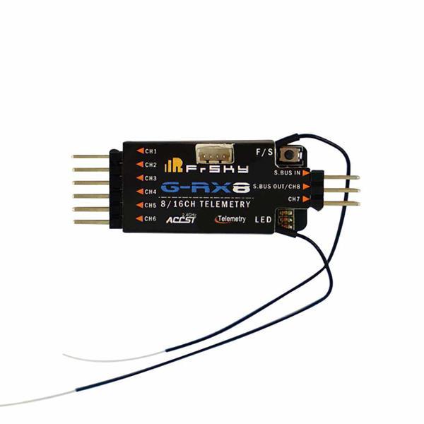 FrSky G-RX8 2.4GHz 8 / 16CH ACCST Output Telemetri Receiver