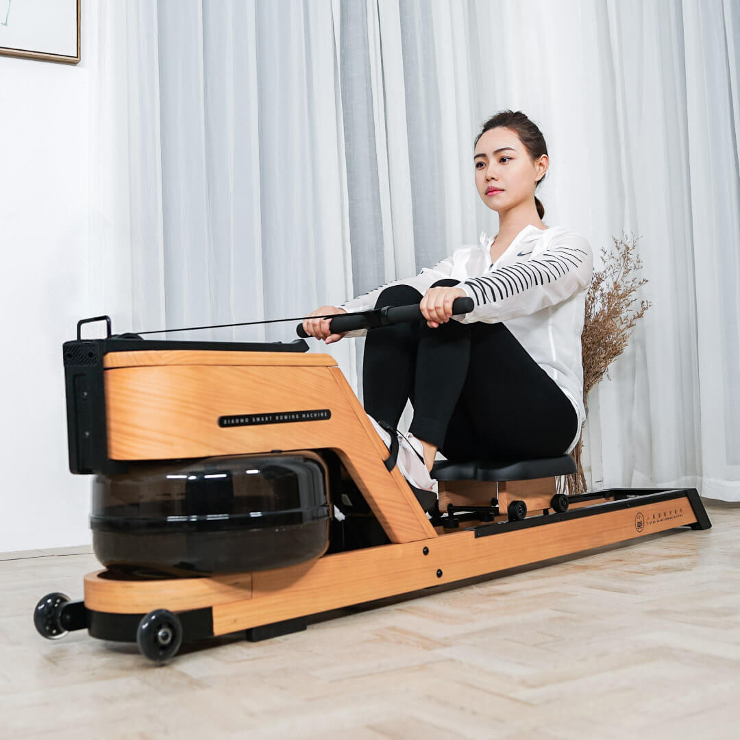 XIAOMO Mini Intelligent Rowing Machine From Xiaomi Youpin Portable Outdoor Indoor Home Fitness Gym Arm Abdominal Muscle Trainer Boating Machine
