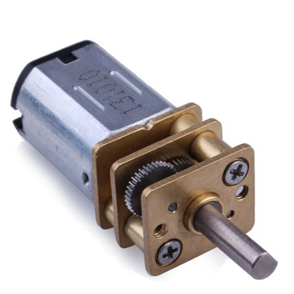 N20 DC Gear Motor Miniature High Torque Electric Gear Box Motor