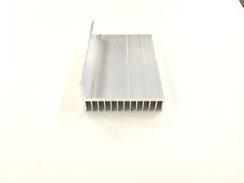 L-formad aluminiumlegering 101,5x49x100mm kylflänskylare för Raspberry Pi-projekt