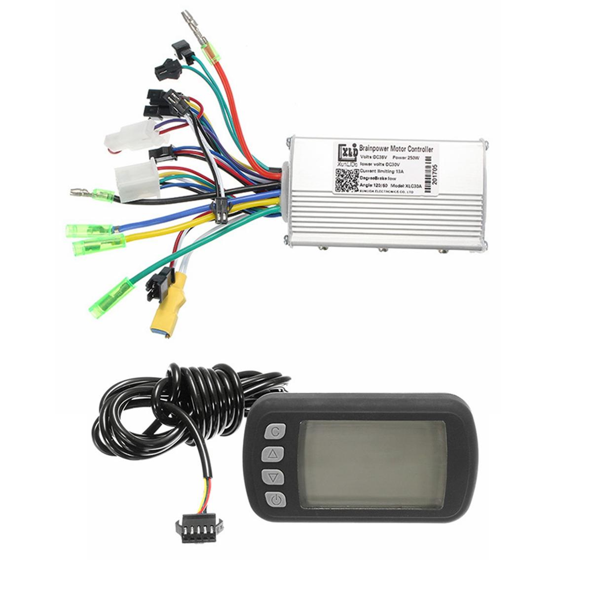 24V36V48V250W350W BLDC Motor Sd Controller LCD Display For MTB E-Bike on