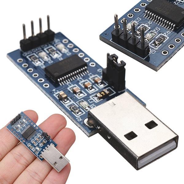 3pcs FT232 USB UART Board FT232R FT232RL To RS232 TTL Serial Module 52 x 17  x 11mm