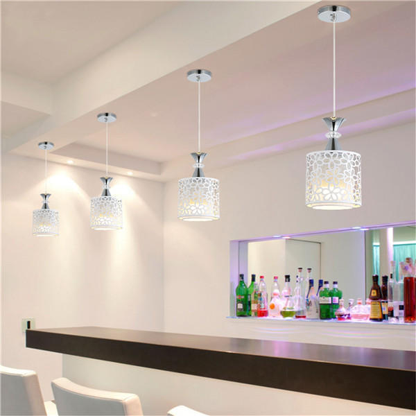 Modern Crystal Ceiling Light Chandelier Pendant Kitchen Dining Room Fixture