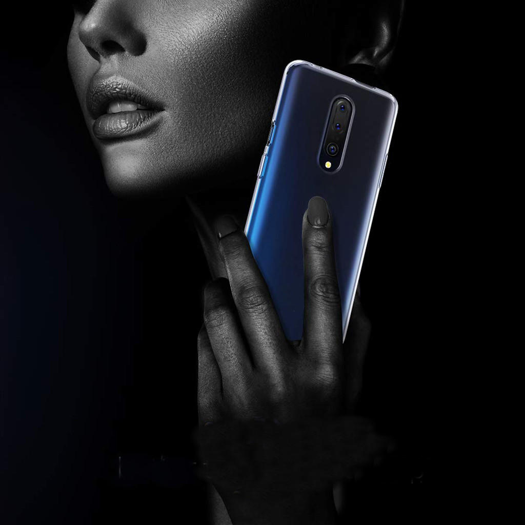 BAKEEY Transparent Ultra-thin Soft TPU Protective Case For OnePlus 7 Pro / 1+7 Pro