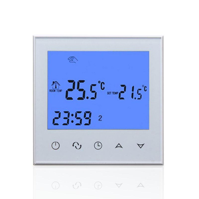 Màn hình LCD kỹ thuật số 200-240V Bộ điều khiển nhiệt độ phòng Bộ điều nhiệt NTC Cảm biến