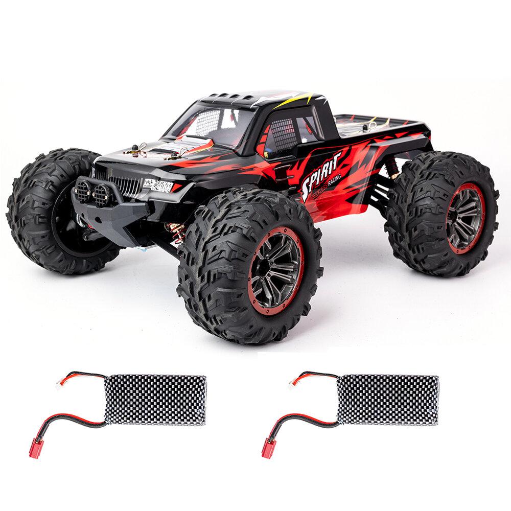 xlf x04 1/10 2.4 جرام 4WD فرش rc سيارة عالية السرعة 60 كيلومتر / الساعة نماذج مركبة اللعب اثنان البطارية