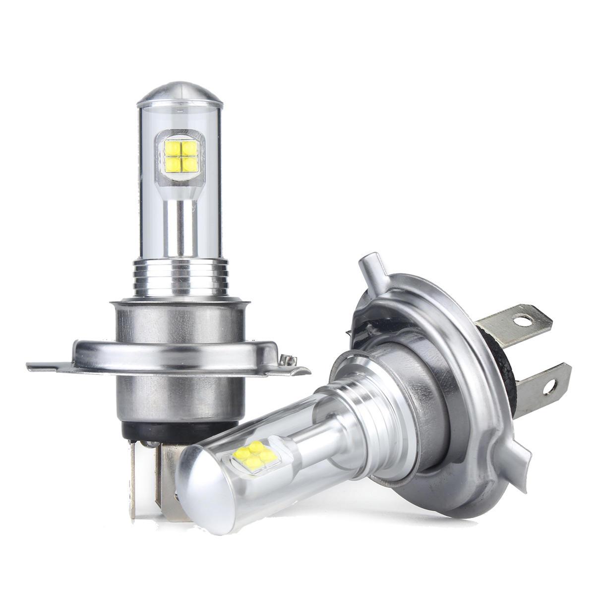 Autoleader 80W 1500LM LED Car Headlights Fog Lamps H1 H3 H4 H7 H11 H16 9005  9006 6000K