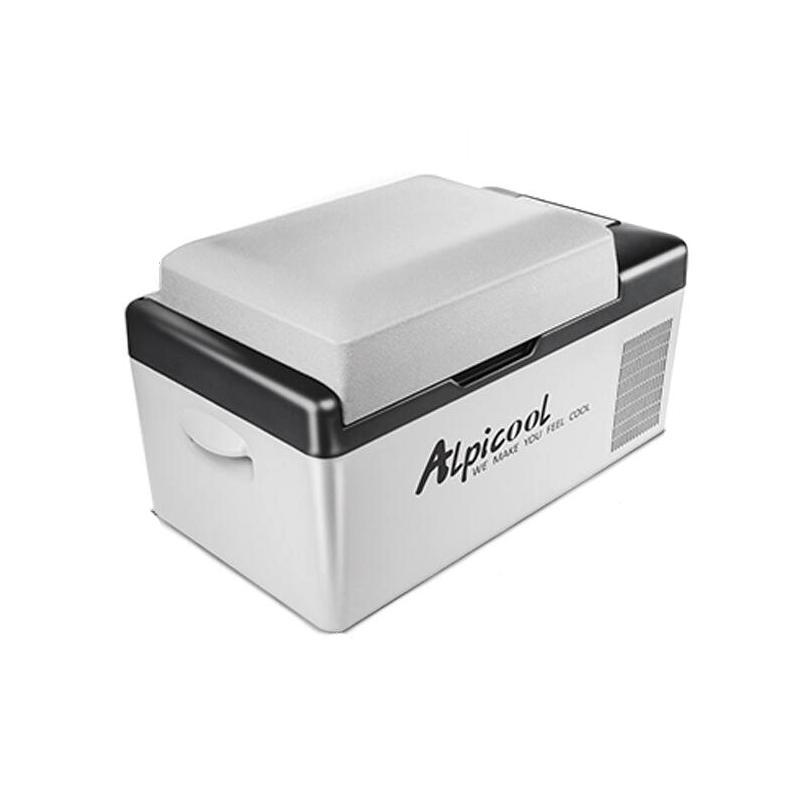 ALPICOOL C20 20L 12V 24V डिजिटल डिस्प्ले के साथ APP Conrtol कार होम रेफ्रिजरेटर फ्रीजर कैम्पिंग बोटिंग कारवां