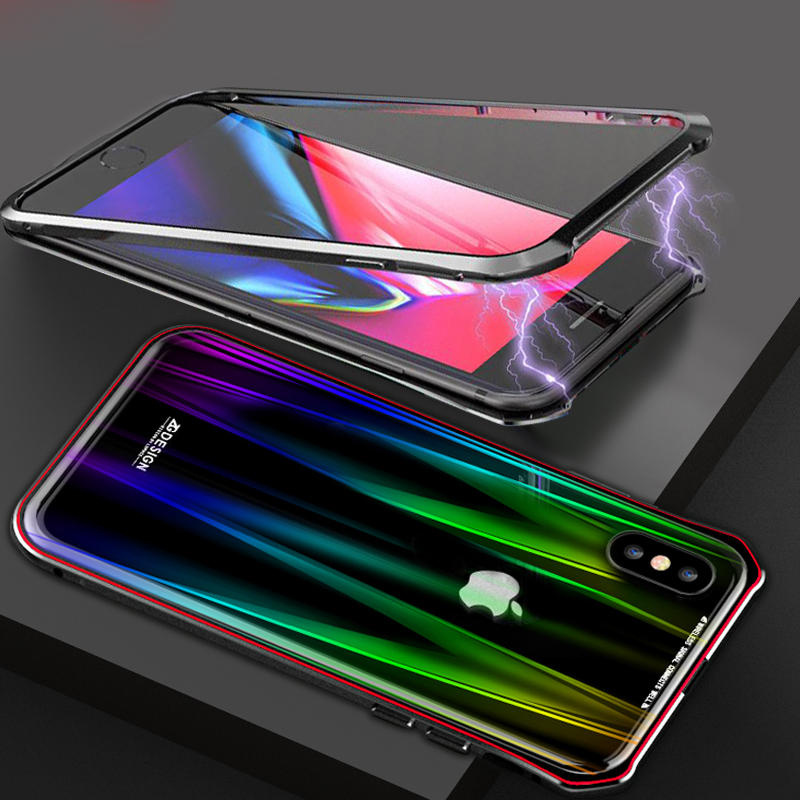 tempered glass iphone xs case