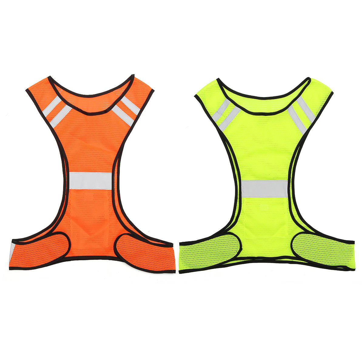 Night Work High Visibility Reflective Vest Security Safety Gear Stripes Jacket, Banggood  - buy with discount