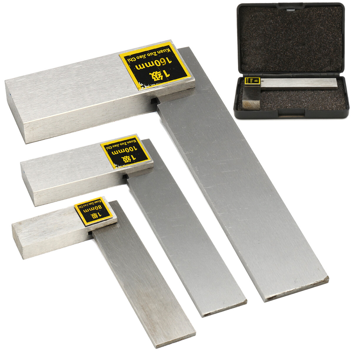 Machinist Bevel Square 90° Right Angle Ruler High Precision Design Tool, Banggood  - buy with discount