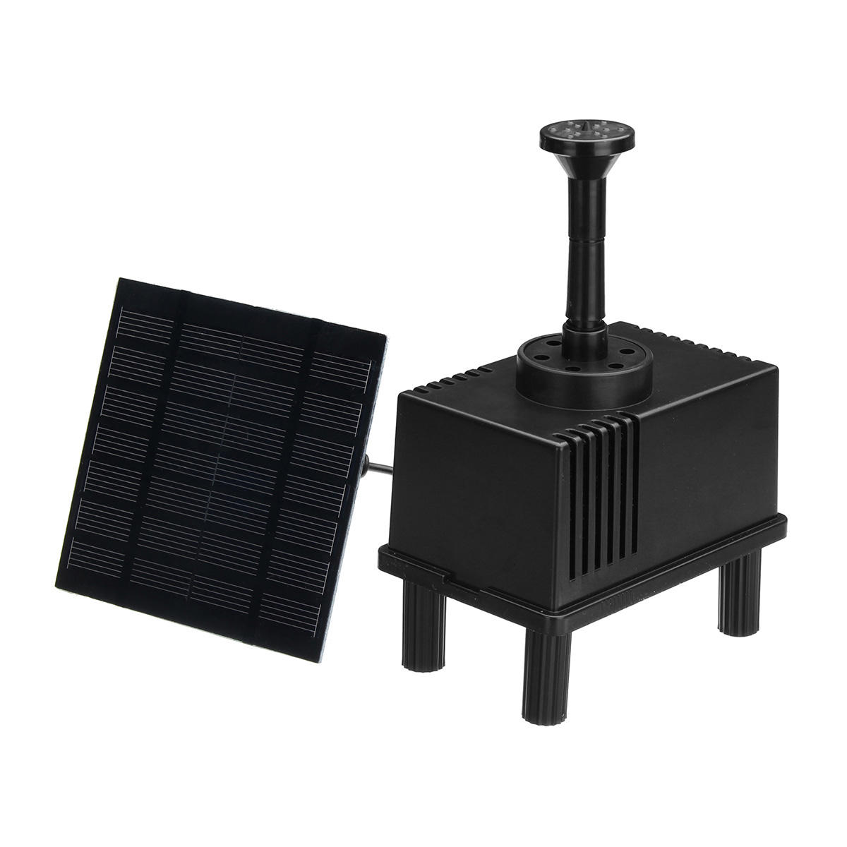 Solar Fountain Water Pump Panel Garden Pond Pool Submersible Watering Kit