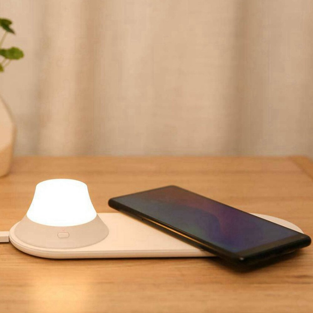 Yeelight Wireless Charger with LED Night Light Magnetic Attraction Fast Charging For iPhone (Xiaomi Ecosystem Product)