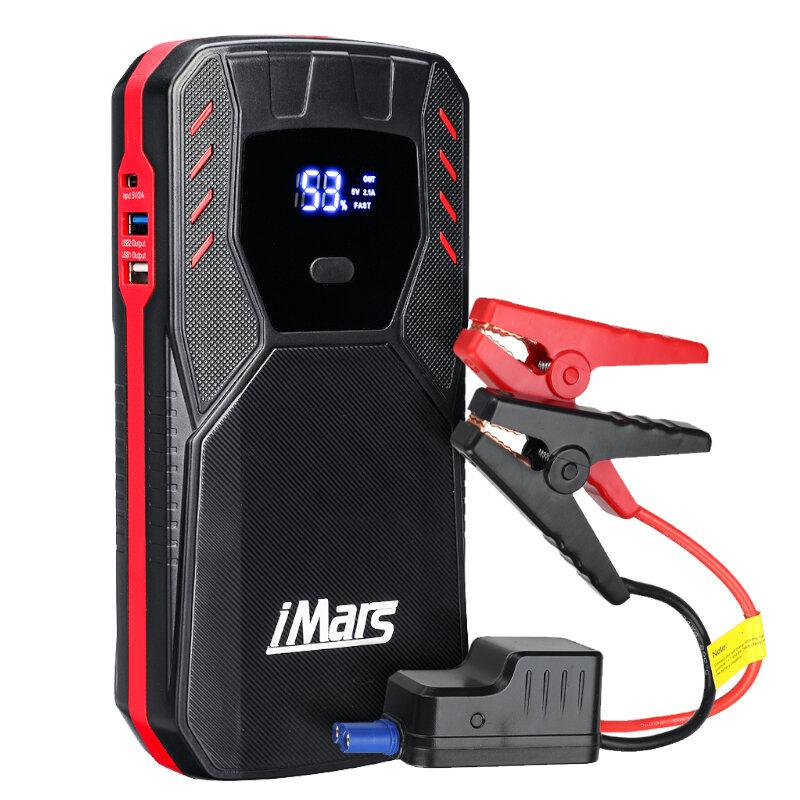 iMars J05 1500A 18000mAh Portable Car Jump Starter Powerbank Emergency Battery Booster Fireproof with LED Flashlight QC3