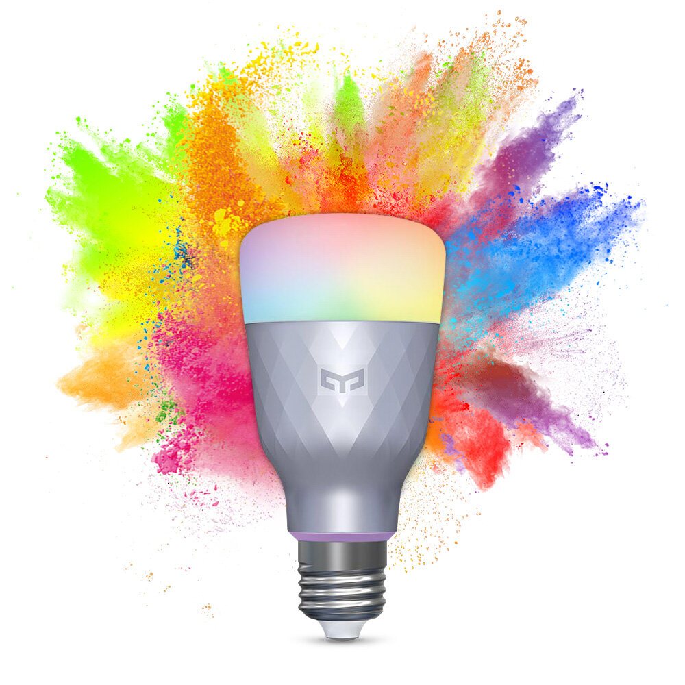 Banggood coupon: YEELIGHT YLDP001 1SE E27 6W RGBW Smart LED Bulb Voice Control Trabalho com Amazon Alexa Google Assistant AC110-240V