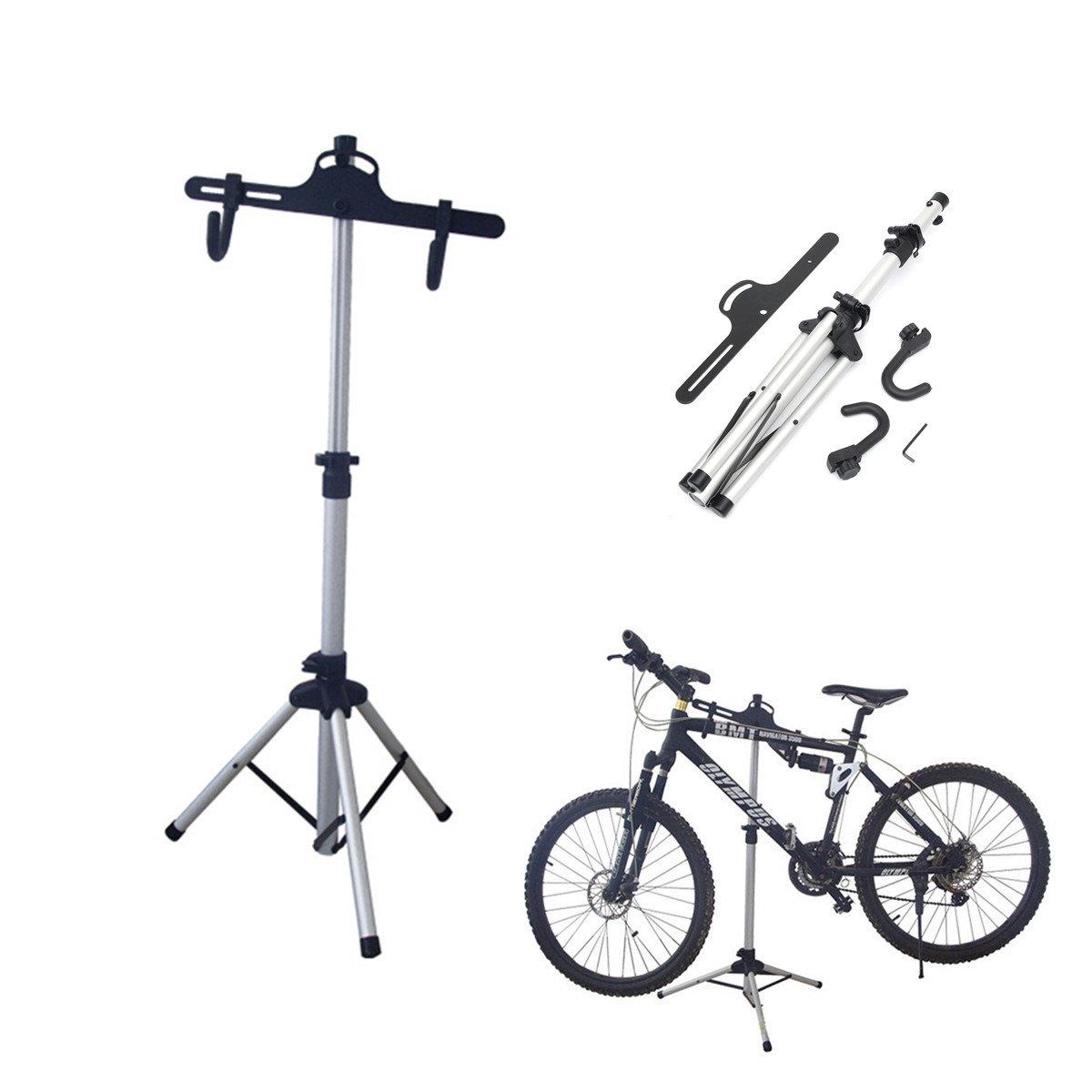 Xe đạp Sửa chữa xe đạp Bảo trì đứng Gấp Workstand Chủ sở hữu điều chỉnh Công cụ sửa chữa cho đi xe đạp