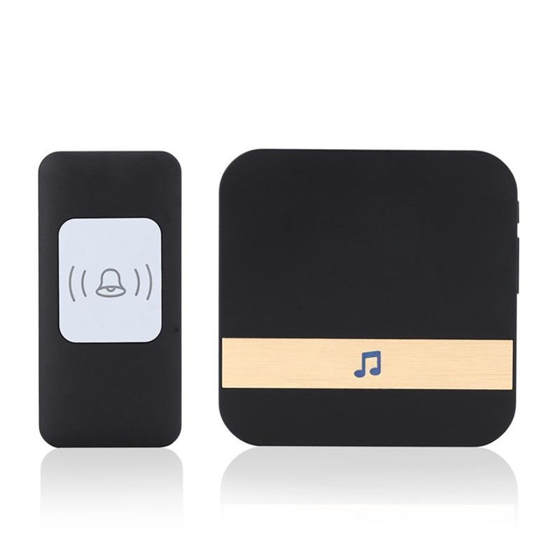 CACAZI Smart Home Doorbell Waterproof 300m Remote Wireless Music Door Bell 52 Rings Door Chime