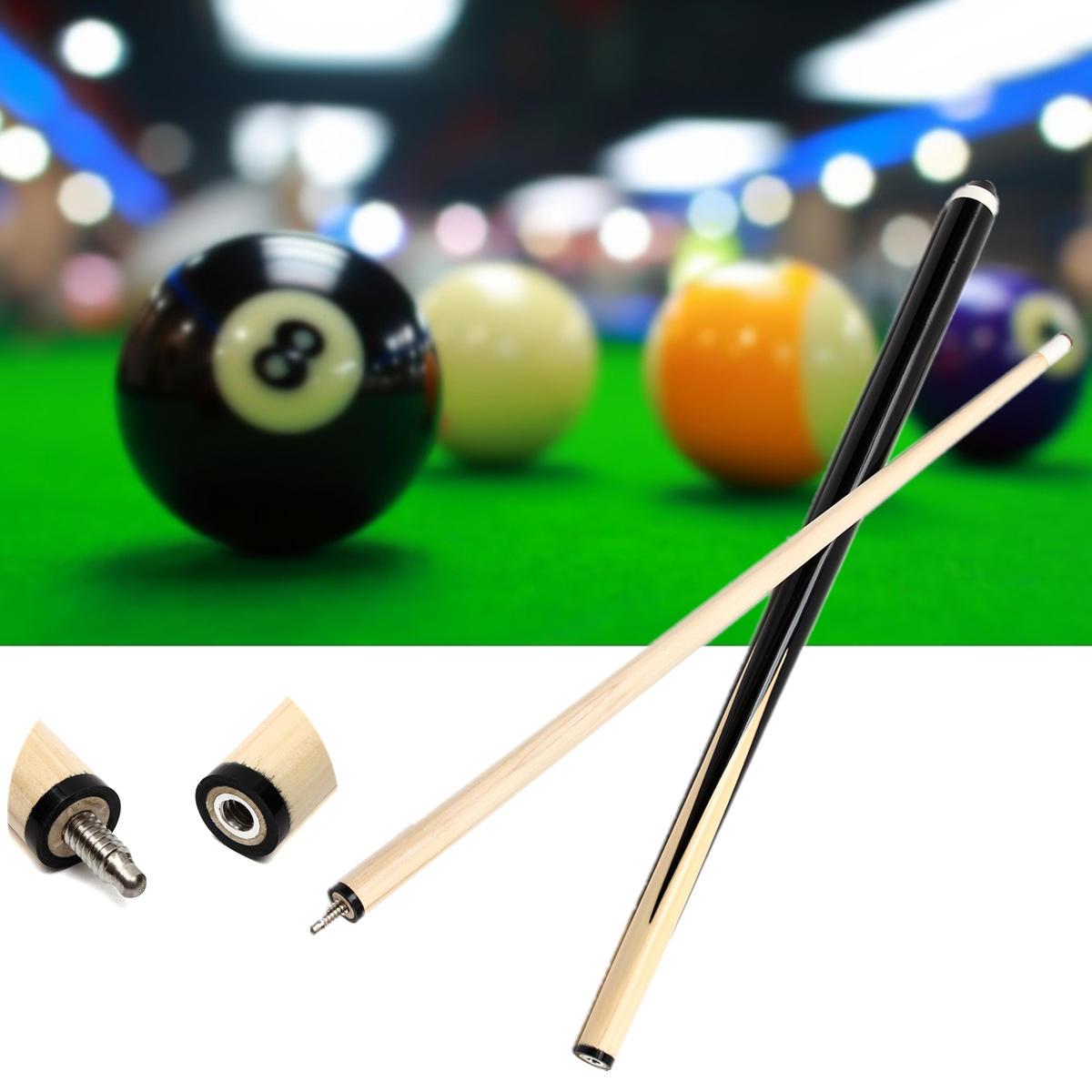 1 Unids 48 pulgadas Corta De Madera Piscina Billar Palo Snooker Cue Table Tennis Rod