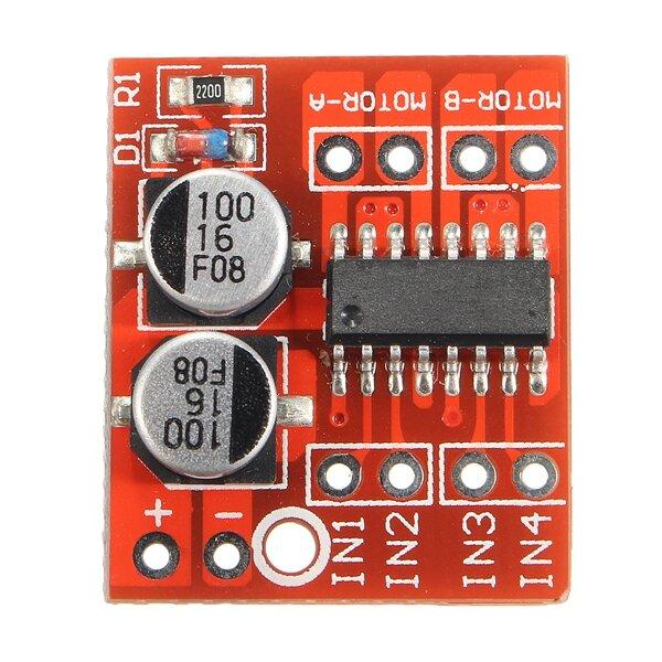 Dual Channel L298N DC Motor Driver Board PWM Speed Dual H Bridge Stepper Module