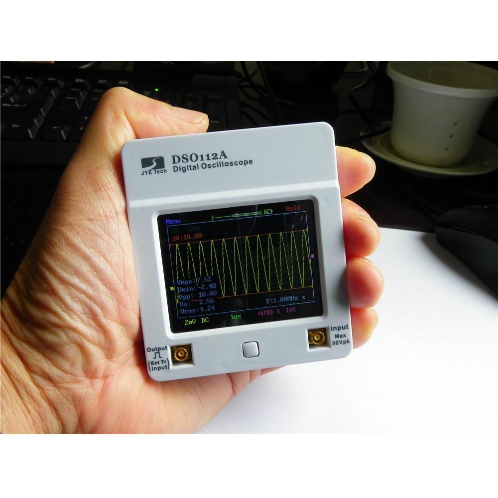 MINI DSO112A อัปเกรดเวอร์ชันหน้าจอสัมผัส 2MHz TFT Digital Mini Hและheld Oscilloscope With แบตเตอรี่