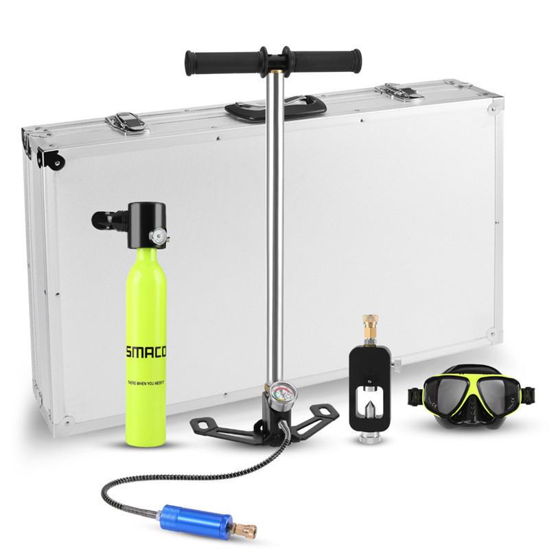 5-10分の水中屋外の小型空気タンク酸素シリンダーびんのスキューバダイビングセット装置の総計Freedom息