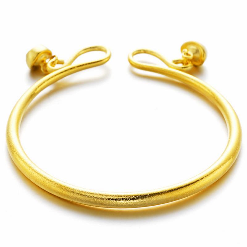 Trendy Copper Gold Plating Couple Bracelets Fashion Adjustable Matte Bracelet Couple Jewerly