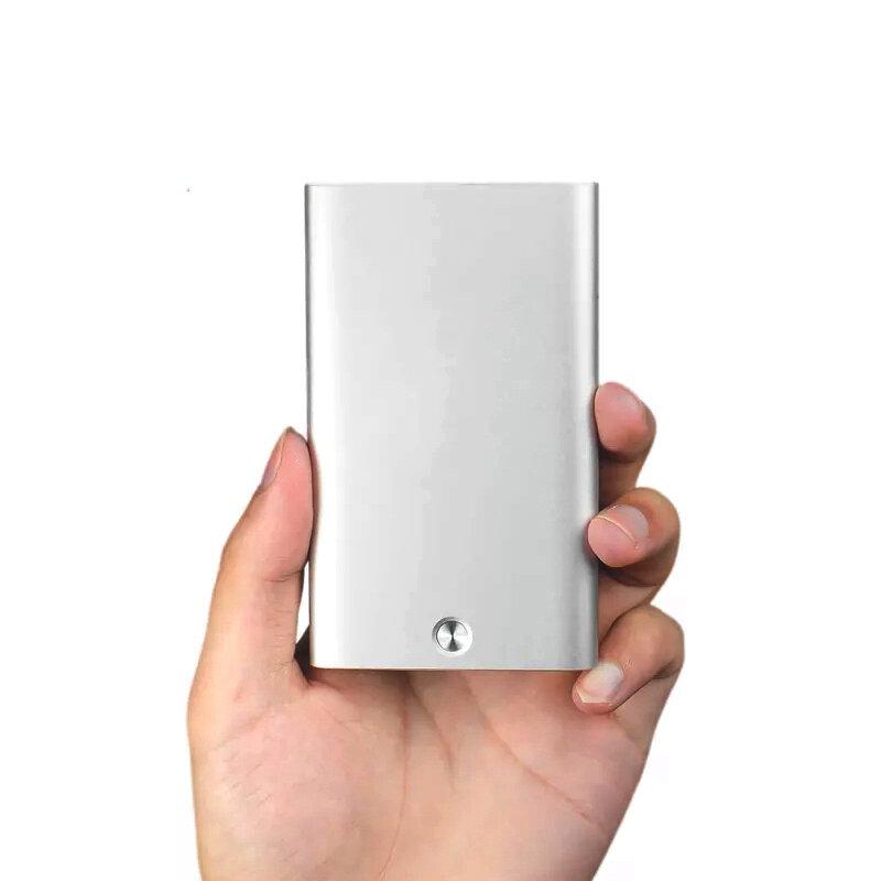 Xiaomi Youpin से MIIIW ऑटोमैटिक बिजनेस कार्ड होल्डर स्लिम मेटल नेम क्रेडिट कार्ड केस स्टोरेज बॉक्स