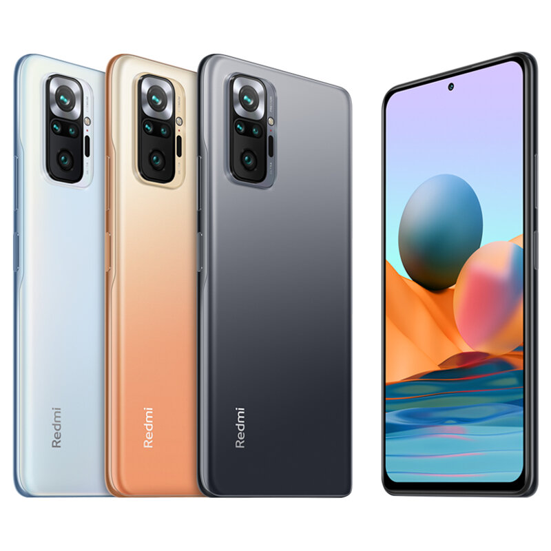 Xiaomi redmi note 10 pro global version 8gb 128gb 108mp quad camera 6.67 inch 120hz amoled display 33w fast charge snapdragon 732g octa core 4g smartphone Sale - Banggood.com-arrival notice