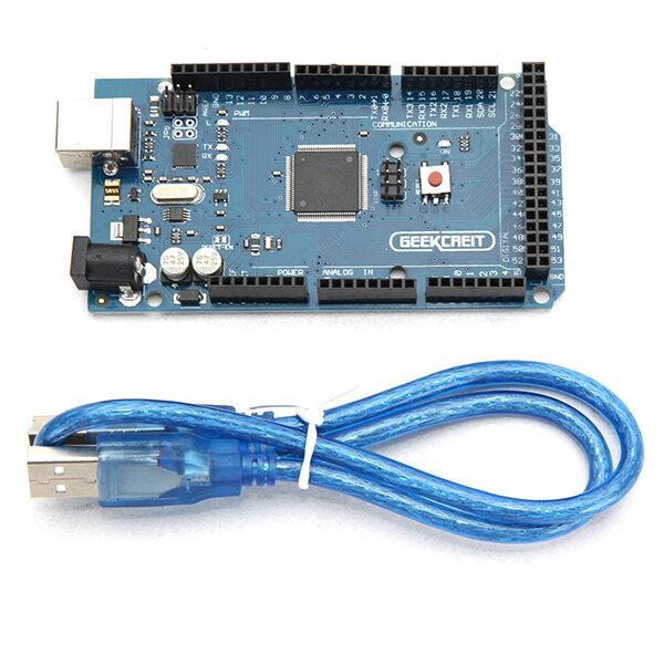 ATmega2560-16AU ATMEGA16U2 Board+USB Cable für MEGA2560